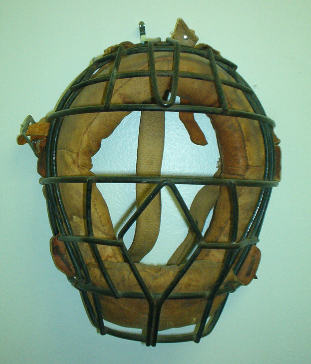 Old Catcher's Mask
